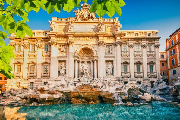 Rome Fountain Trevi