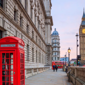 Daytrip to beautiful London for just 237 kr