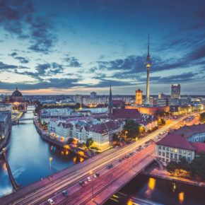 2 days city break to Berlin at a 4* hotel with breakfast only 269 kr