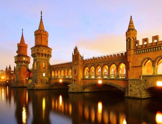Berlin Warschauer bridge