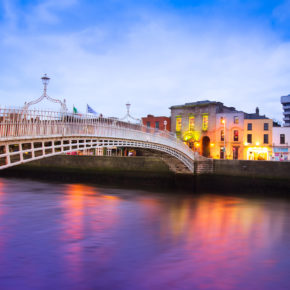 Dublin: 4 days in 4* hotel with flights only 802 kr