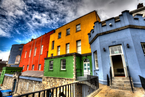Dublin Color Houses