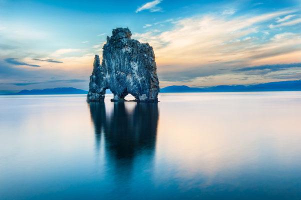Iceland Sea Rock