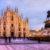 Milan Cathedral Sunset