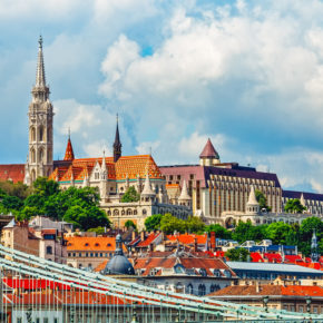 Budapest: 3 days city break with hotel & flights only 523 kr