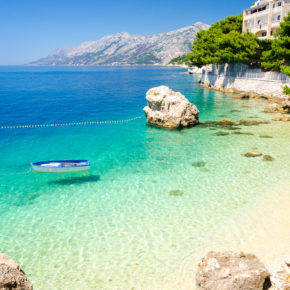 8 days to Croatia with beach-apartment & flights only 628 kr