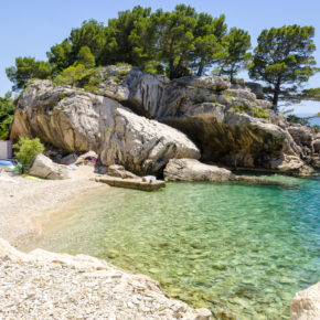 8 days to Croatia with apartment near the beach & flights only 1.058 kr
