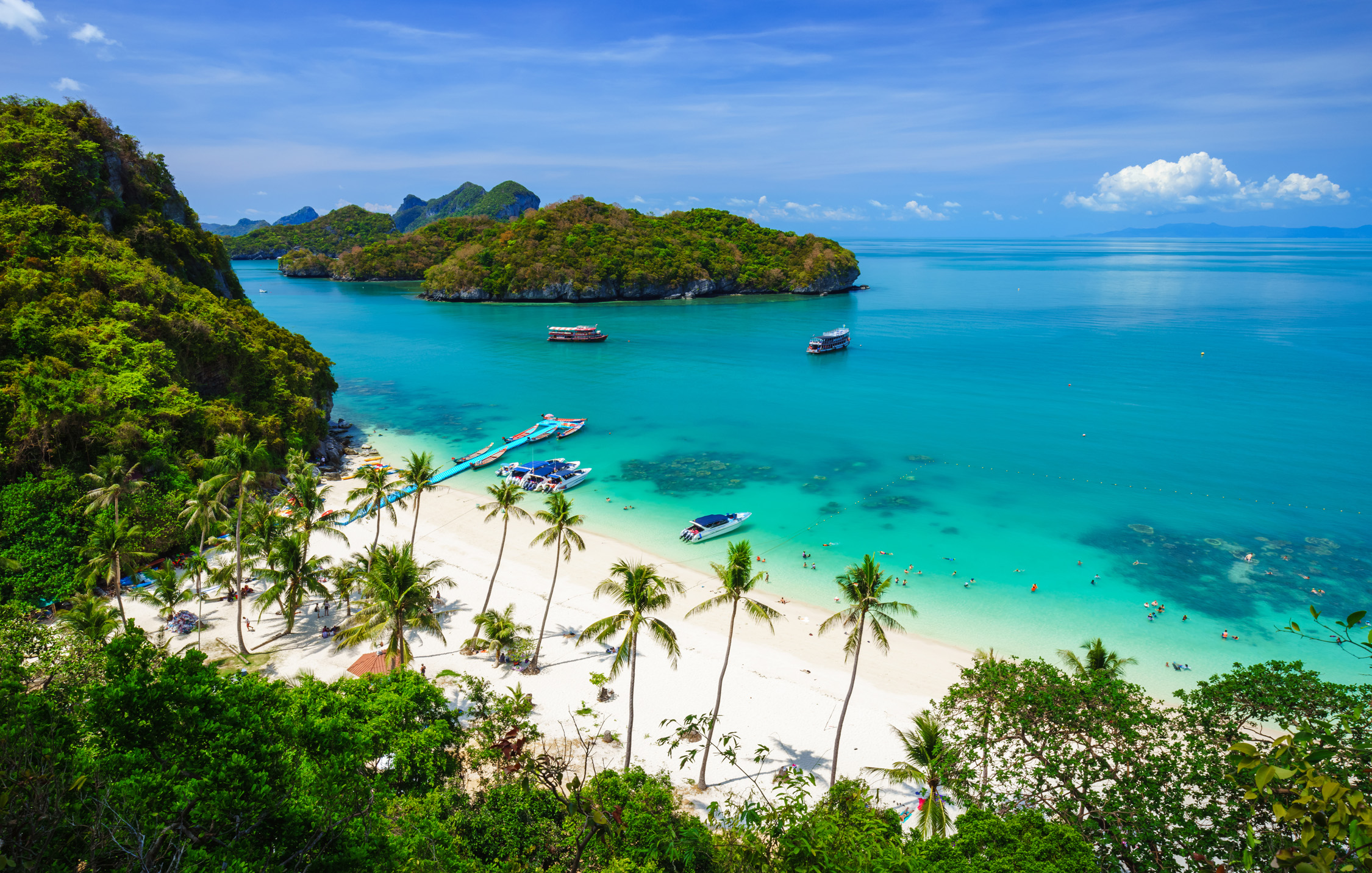 Thailand: 19 days on Koh Samui with your own beach ...