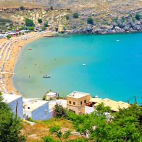 Rhodes: 7 days at 4* hotel with all inclusive, flights & transfers only 2851kr