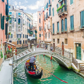 Weekend in Venice: 4 days with hotel & flights for 569 kr
