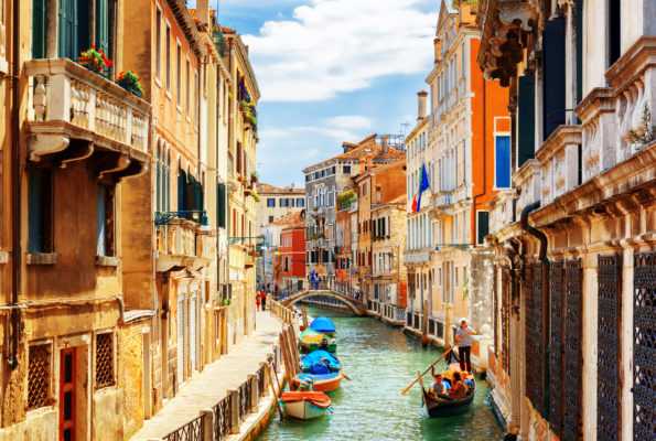 Venice Sunny Canal