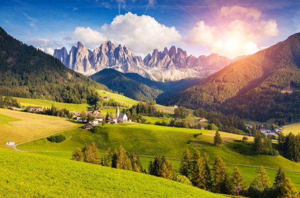 Austria mountain landscape