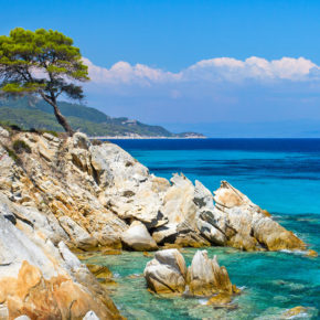 Greece: 8 days in Chalkidiki with great accommodation, sea view & flights only 987 kr