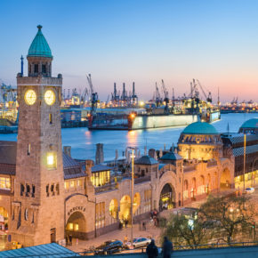 Citybreak Hamburg: 2 days with central 3* hotel incl. breakfast just 117 DKK