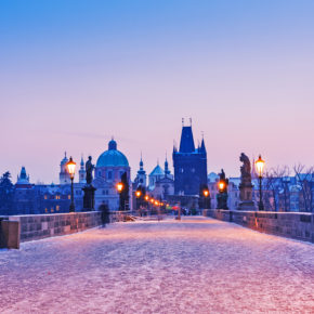 Christmas Market: 3 days to Prague at a 4* Hotel with breakfast just 278 kr