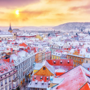 Christmas Market in Prague: 3 days at great 4* hotel with breakfast & flights from 1149kr