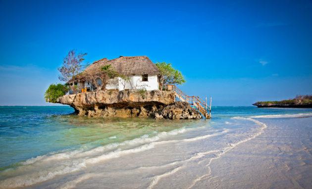 restaurant Beach Zanzibar