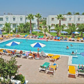 Greece: 7 days on Kos at a great 3* hotel incl. breakfast, flights & transfer from just 3524DKK