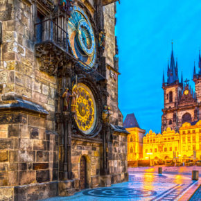 City break to Prague: 3 days at amazing 4* hotel with wine & flights from 979kr