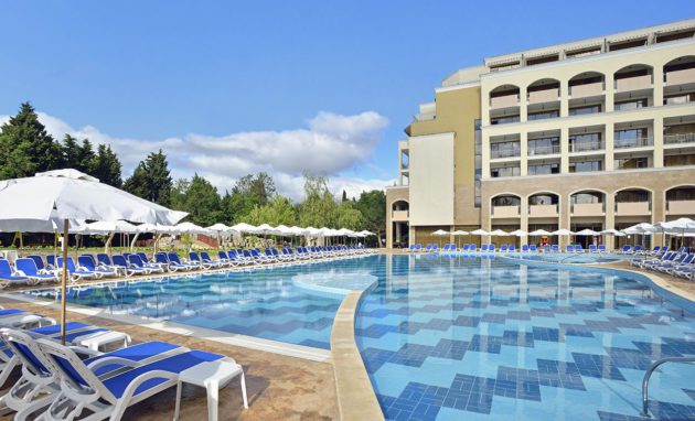 Pool and Hotel Bulgaria