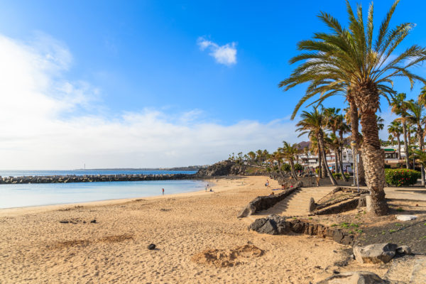 Flamingo Beach Lanzarote