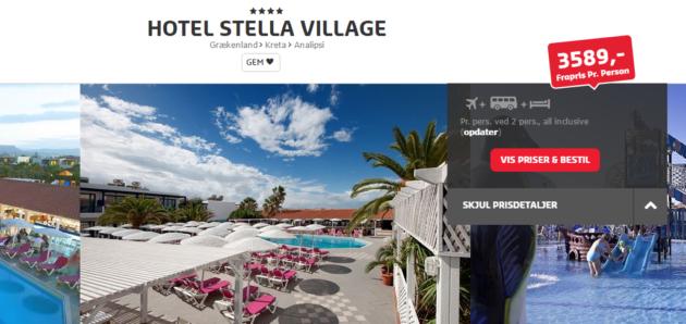 Hotel Stella VIllage