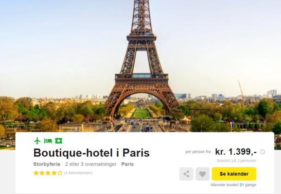 Paris Boutique Hotel