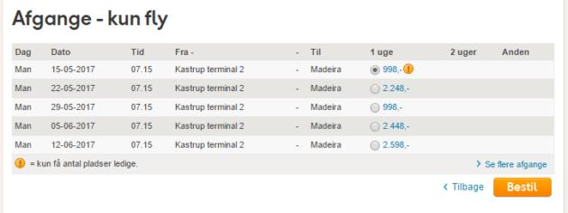 Madeira Flights