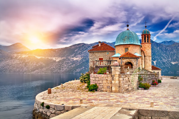 Montenegro Church Island