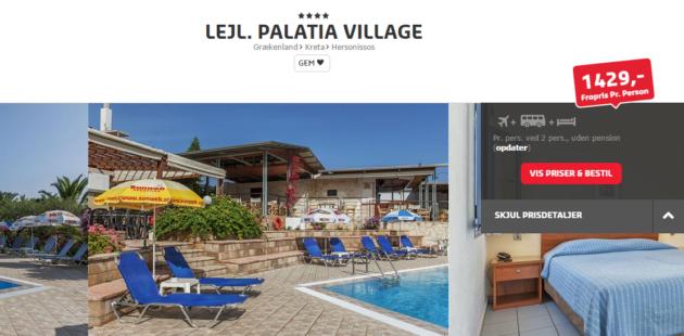 Crete Palatia Village Hotel