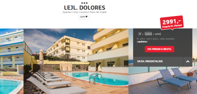 Dolores Hotel Deal