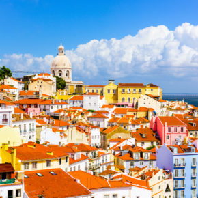 Weekend-Trip: 4 days to Lisbon with flights & TOP hotel incl. breakfast just 685 DKK