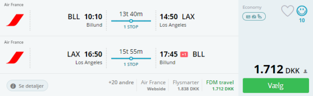 LA flights