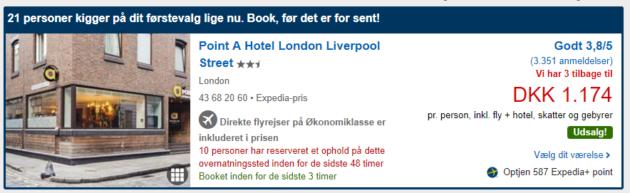 London NYE Deal