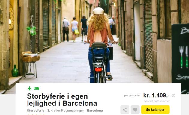 4 days Barcelona