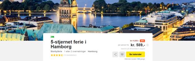 Hamburg Citytrip Deal