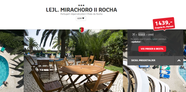 Mirachora Rocha Deal