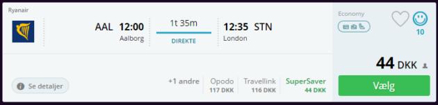 Flights London Deal
