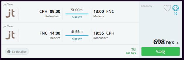 Madeira Flight