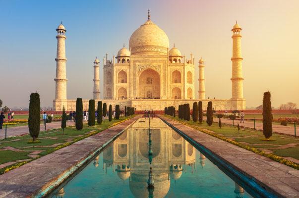 India Agra Mausoleum