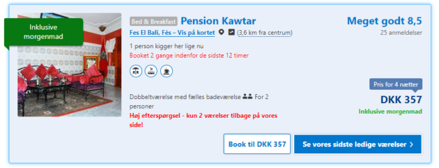 Pension Kawtar