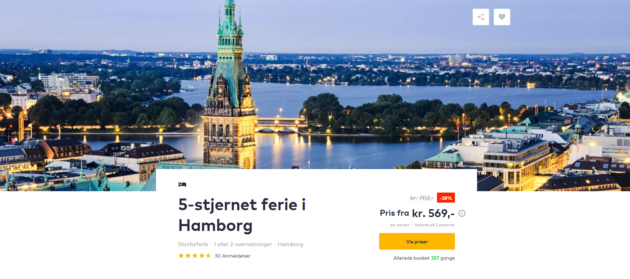 Hamburg Citytrip Deal