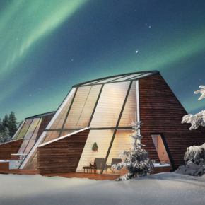 Northern Lights: 2 days in Finland with a private glasshouse, breakfast, whirlpool & sauna only 1845 kr