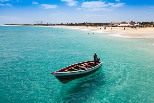 Cape Verde Sea Boat