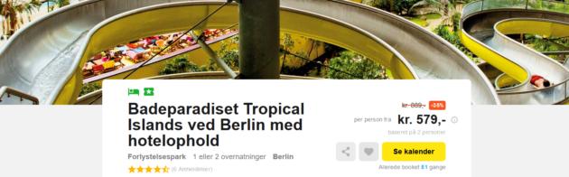 Tropical Islands Deal
