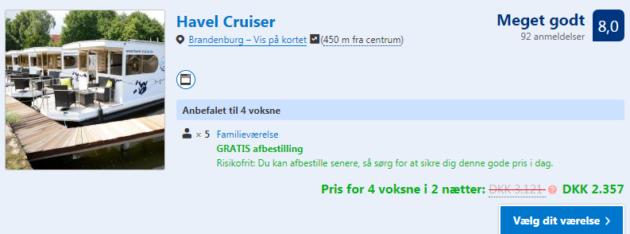 3 days Havel Cruiser