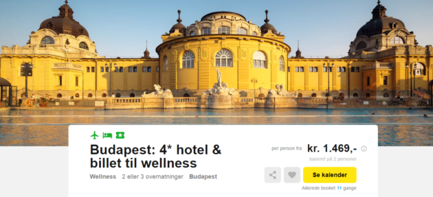Budapest travelbird