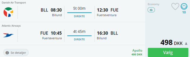 Fuerteventura flights