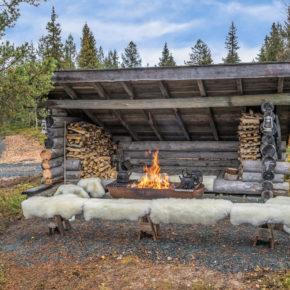 Iisakki Village Fireplace