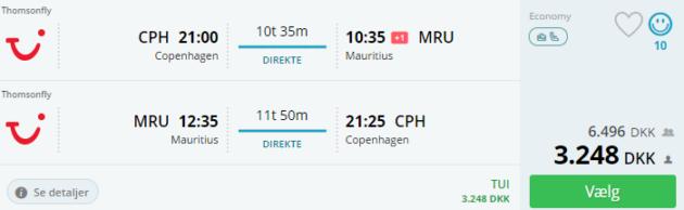 15-tage-14 days Mauritius